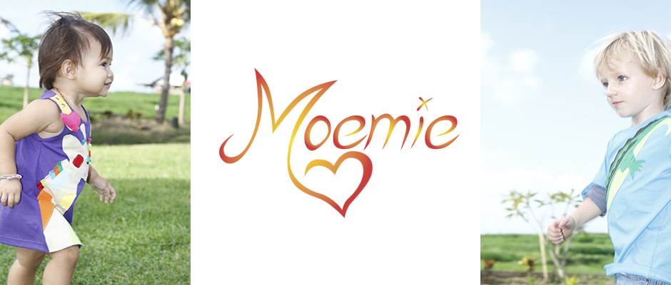 Moemie children's clothing: Top-quality and playful.